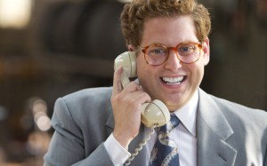 The performances are great all round, but look out for Jonah Hill. His recent increased screen presence hits a high in the Wolf of Wall Street.