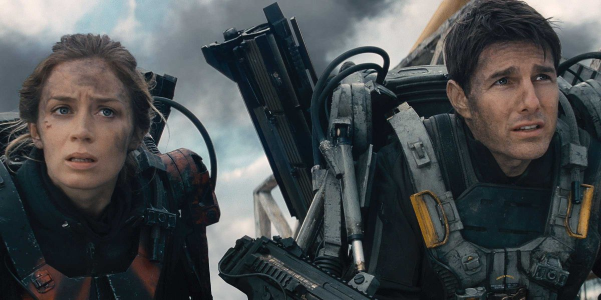 Live Die Repeat The Edge Of Tomorrow 2014 Film Review Andy Mckendry