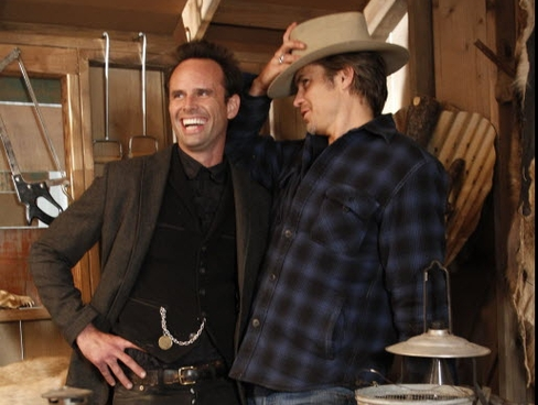 Boyd and Raylan share a past.