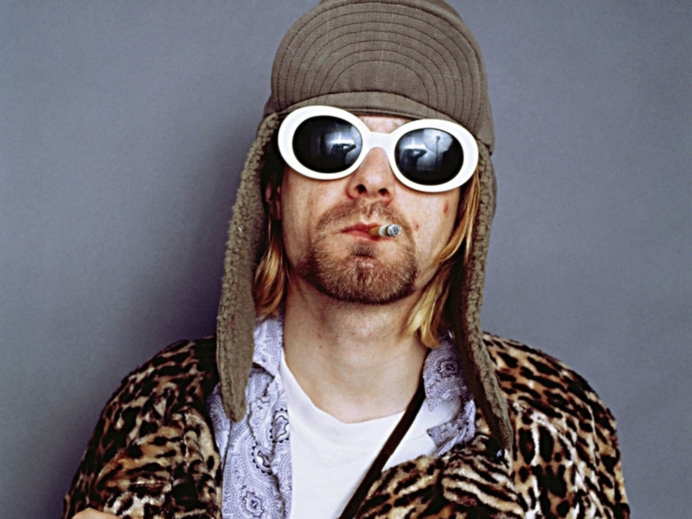 August 1993 --- Singer Kurt Cobain Smoking Cigarette --- Image by Jesse Frohman/CORBIS OUTLINE