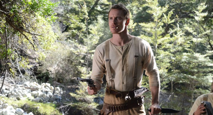 Michael Fassbender as Silas in Maclean's Slow West.