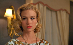 January Jones as Betty Draper.