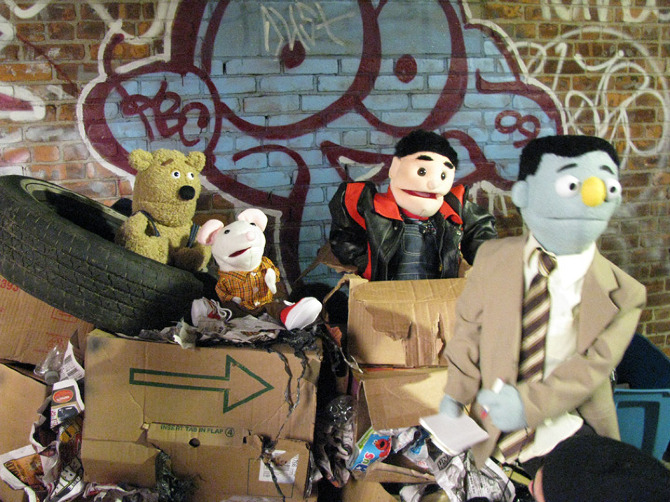 Welcome to Puppet Town.