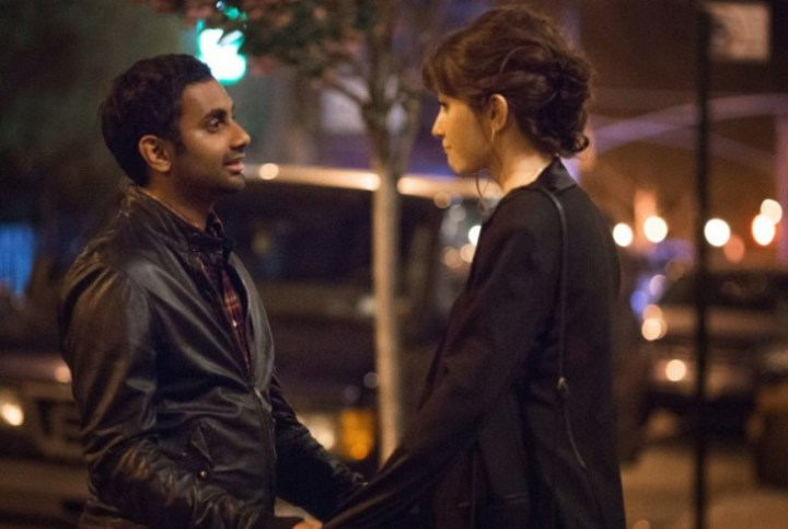 Noel Wells and Aziz Ansari in Master of None.