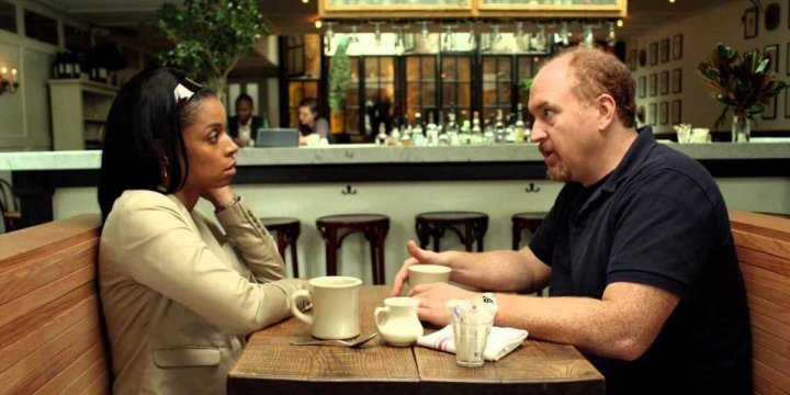 Susan Kelechi Watson and Louis CK in Louie.