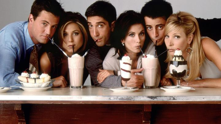 Friends: White-centric TV.